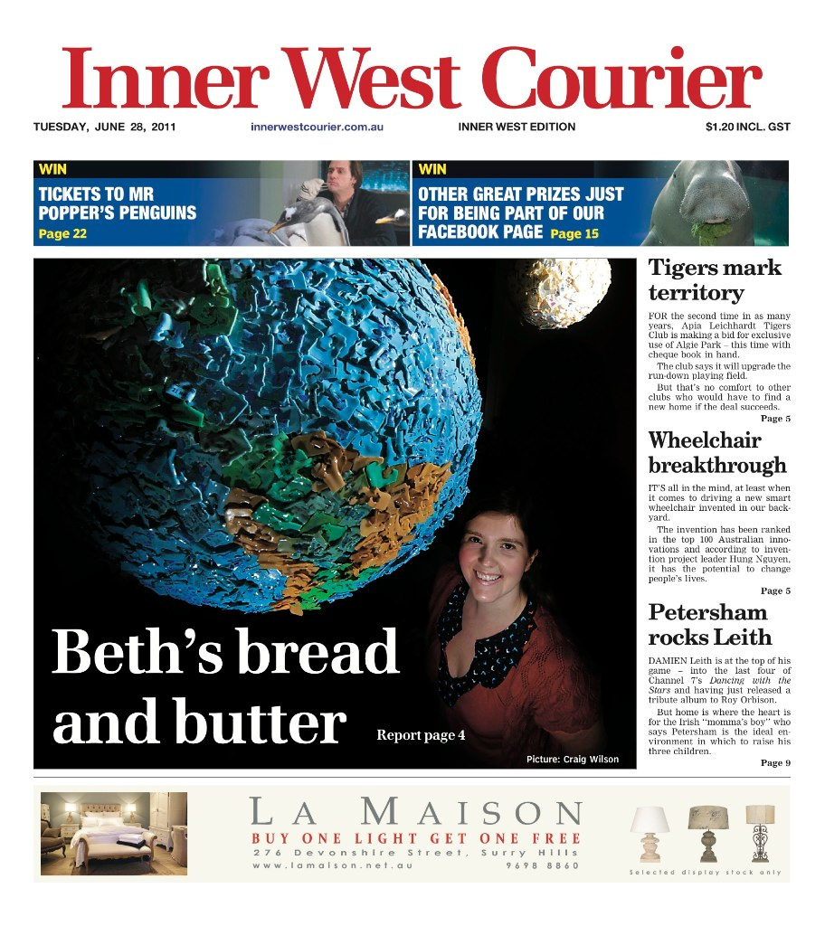 Inner West Courier_Breadtag World