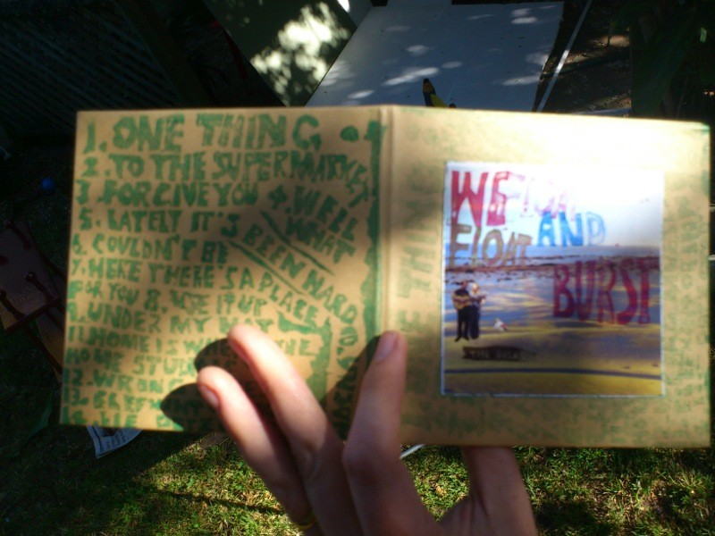 We Float and Burst CD